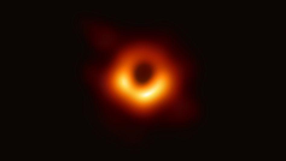 Schwarzes Loch in der Galaxie Messier 87: So ein Bild gab es noch nie