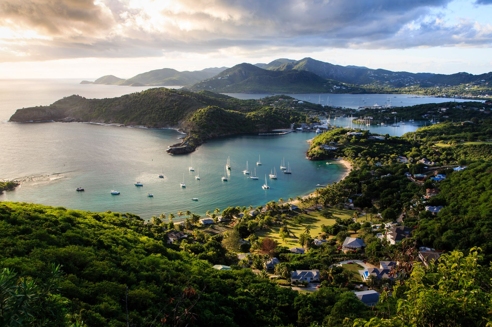 500px Photo ID: 89752753 - View overlooking English Harbor, Antigua & Barbuda