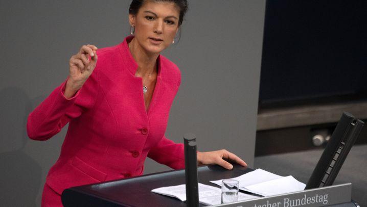 Sahra Wagenknecht: Rückzug des linken Superstars