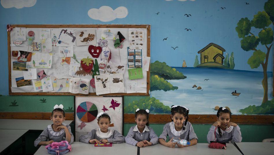 Mädchen in UNRWA-Schule