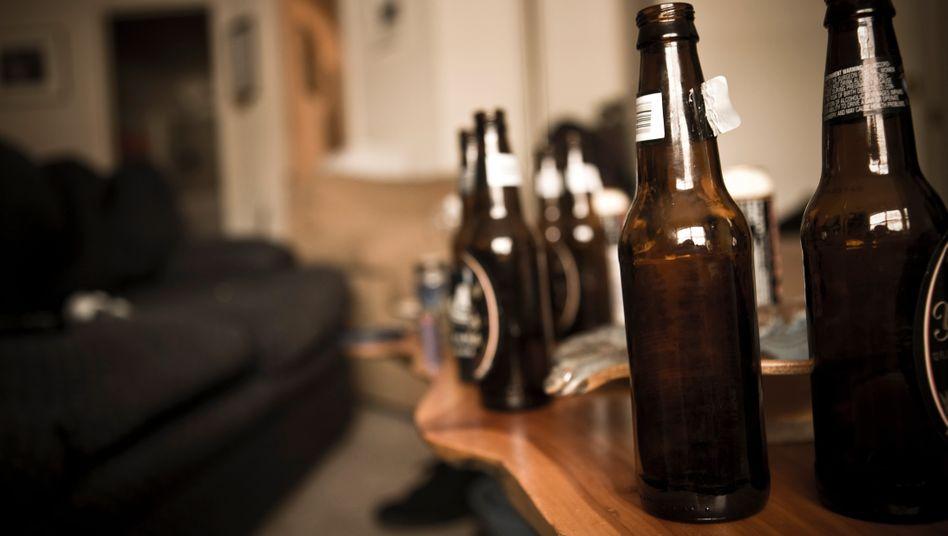 Gesellschaftlich akzeptierte Droge Alkohol: Nichts für einen einsamen Abend