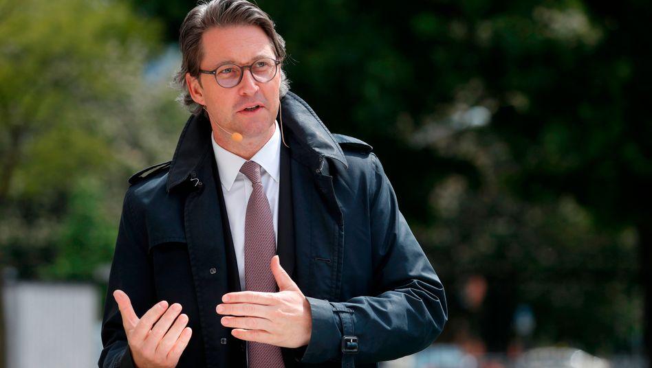 """Verkehrsminister Scheuer (CSU): Ministerium will """"Gerechtigkeitsempfinden"""" wiederherstellen"""