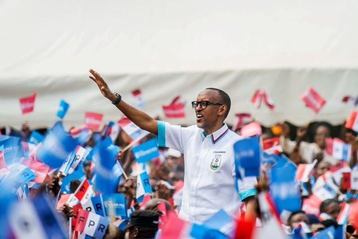 Paul Kagame, 2017