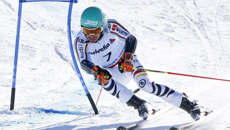 Skirennfahrer Neureuther: Vierter Platz im WM-Riesenslalom