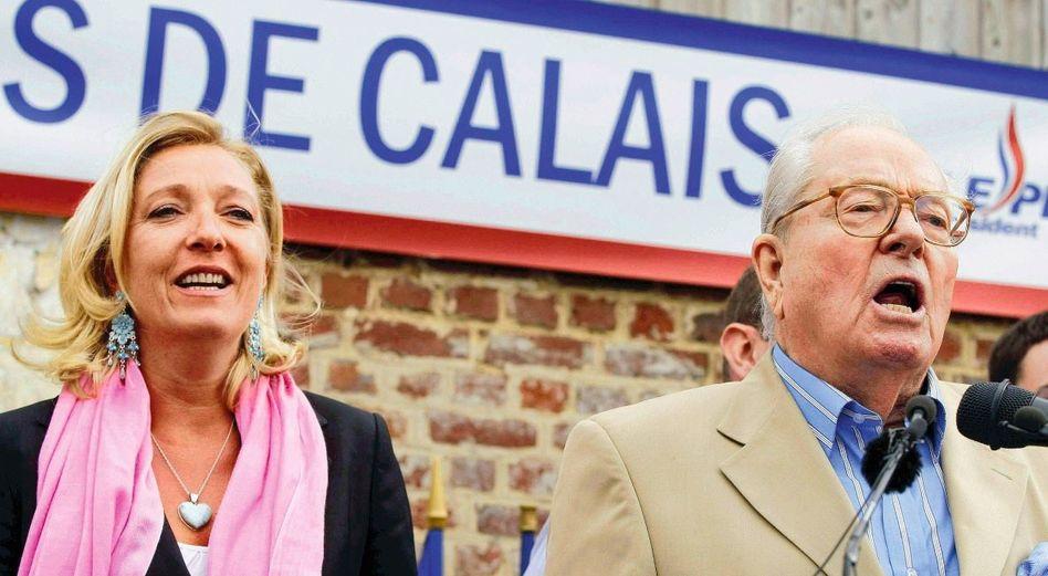 Marine Le Pen, Vater Jean-Marie