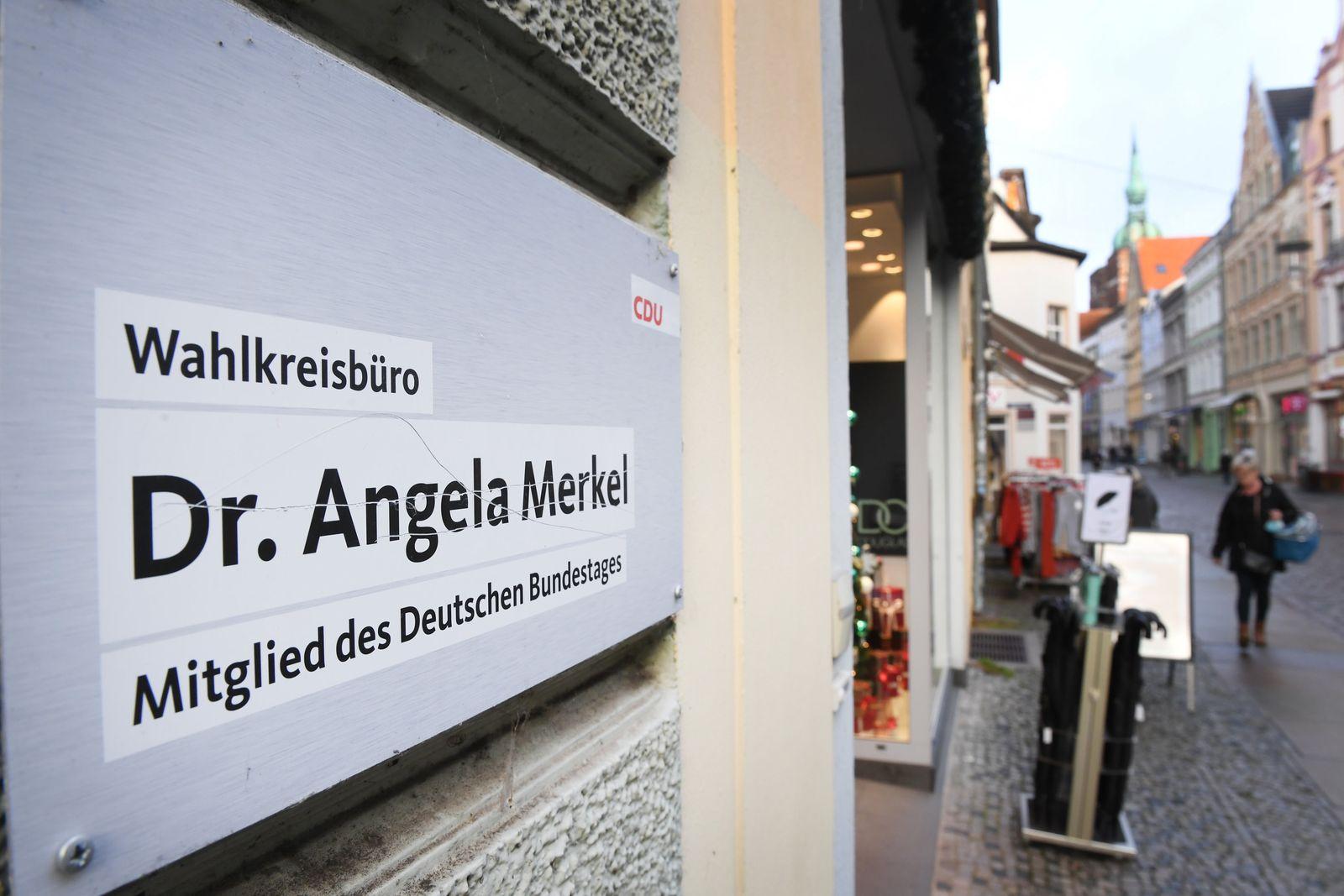 Wahlkreisbüro von Angela Merkel