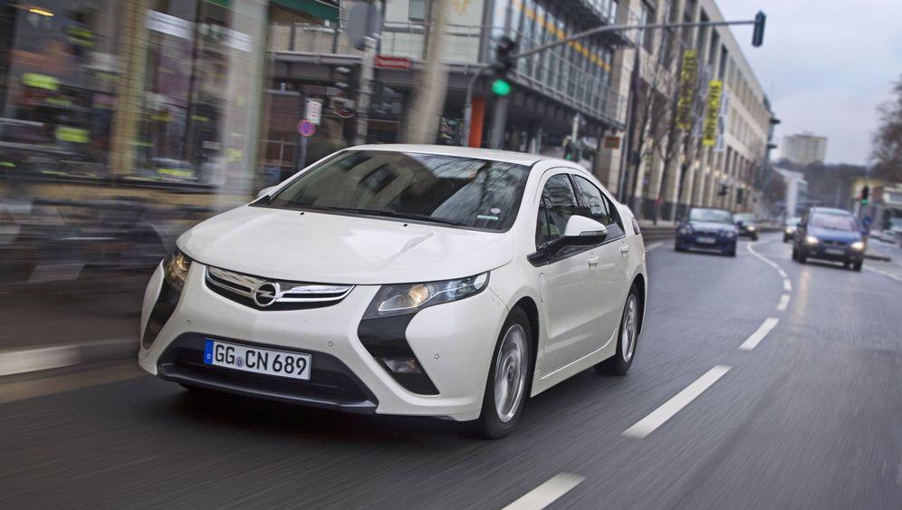 Erfolgloses Elektroauto: Ampera mit Ladehemmungen