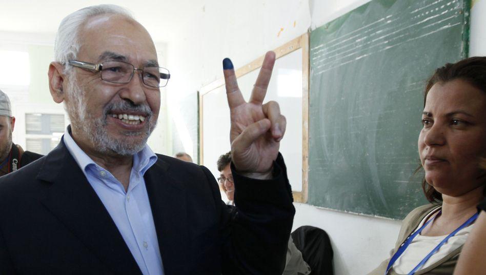 Islamisten-Anführer Ghannouchi: Koalition bevorzugt