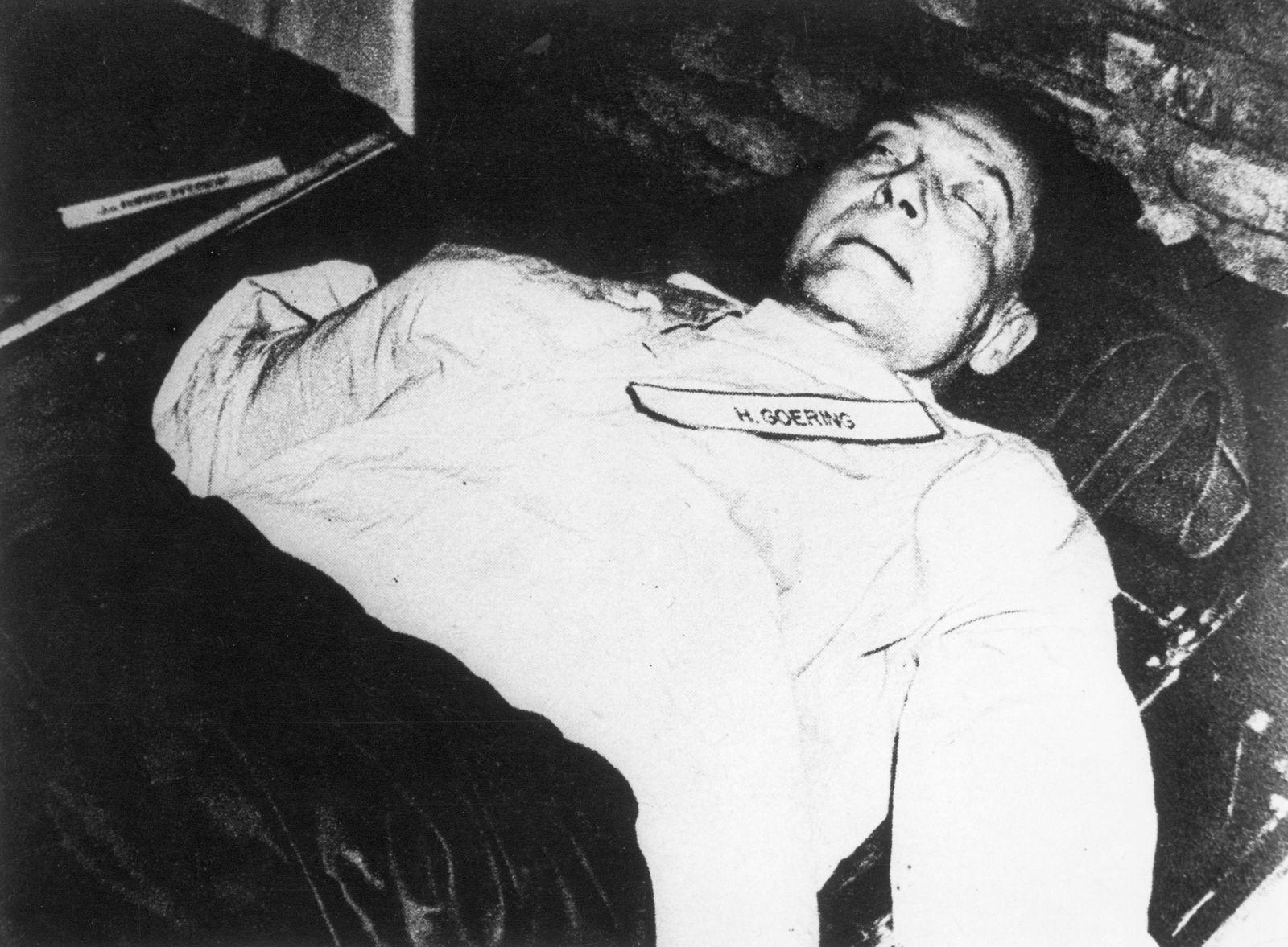 Die Leiche Hermann Görings