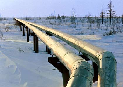 Russia already supplies the bulk of Germany's natural gas. Construction on the new pipeline got underway on Friday with completion scheduled for 2010.