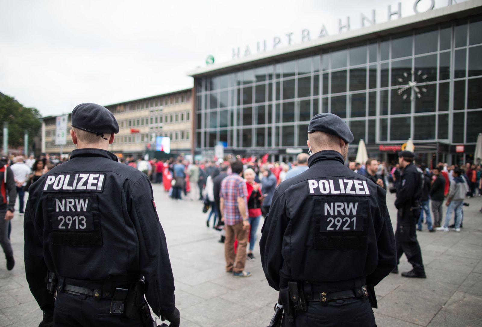 Sicherheit am Kölner Hauptbahnhof
