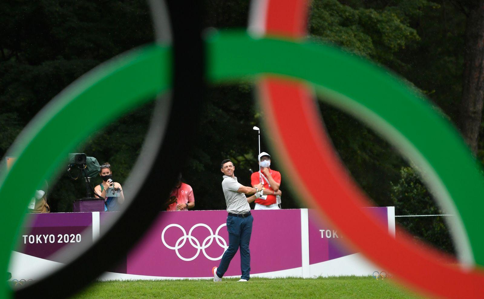 Golf - Men's Individual - Final - Round 1