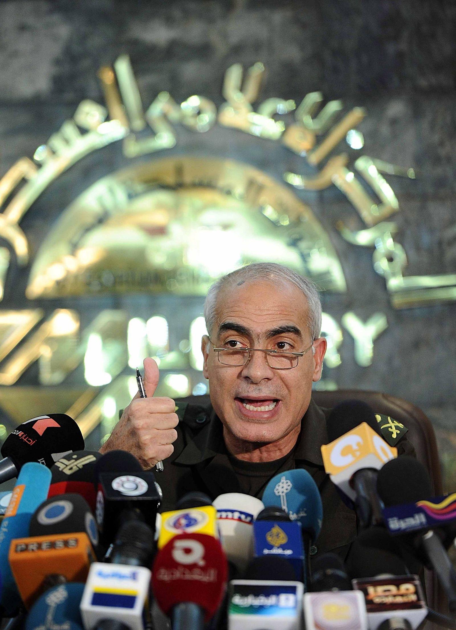 Egyptian military council announces a constitutional declaration
