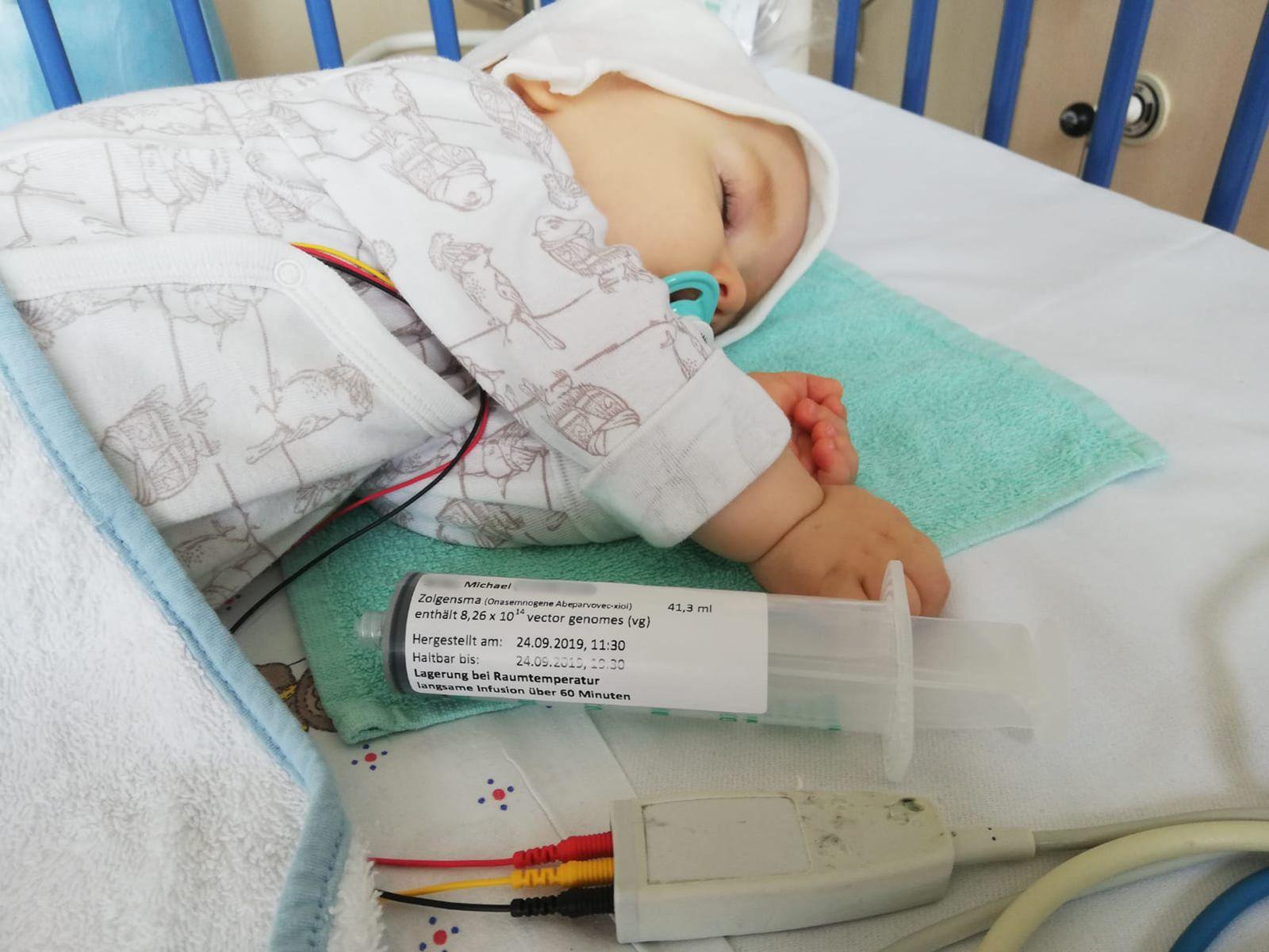 Zolgensma-Patient Michael