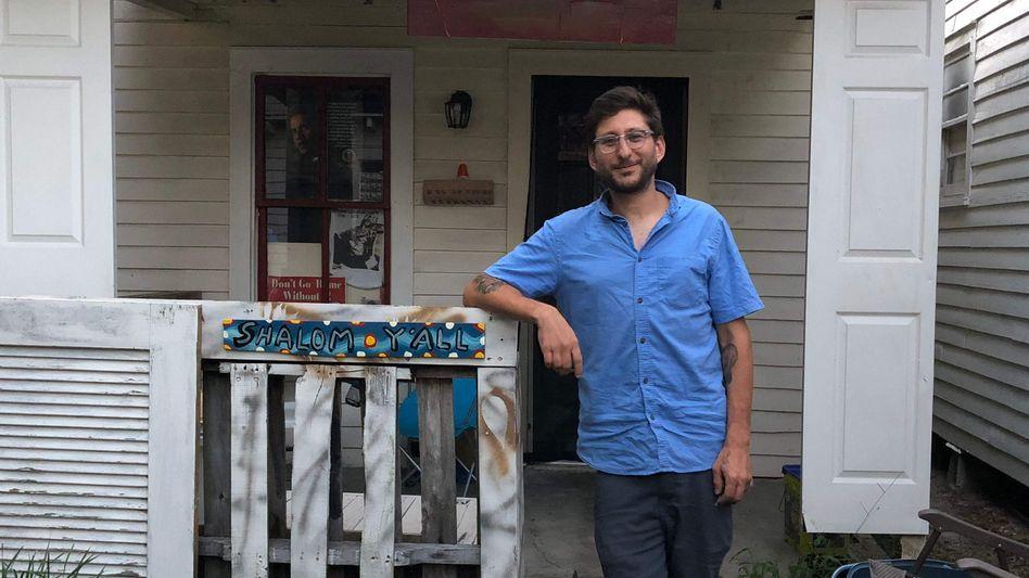 Der US-Journalist Danny Fenster in Louisiana vor seiner Abreise nach Myanmar