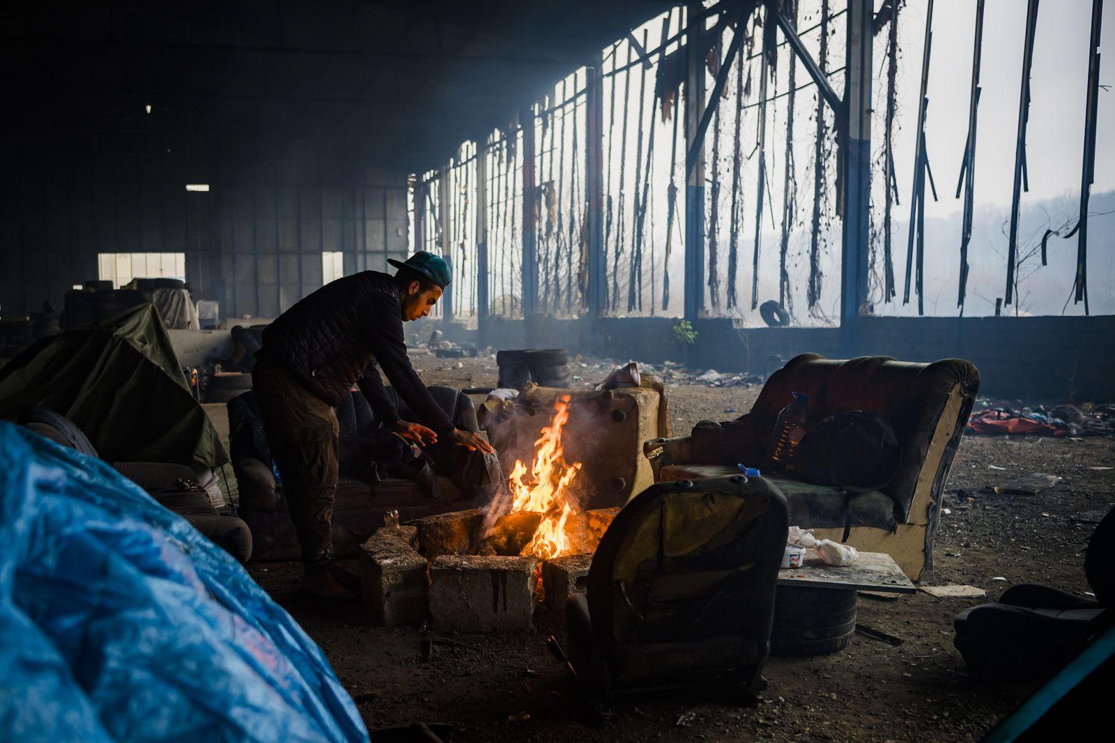 Migranten in Bosnien-Herzegowina