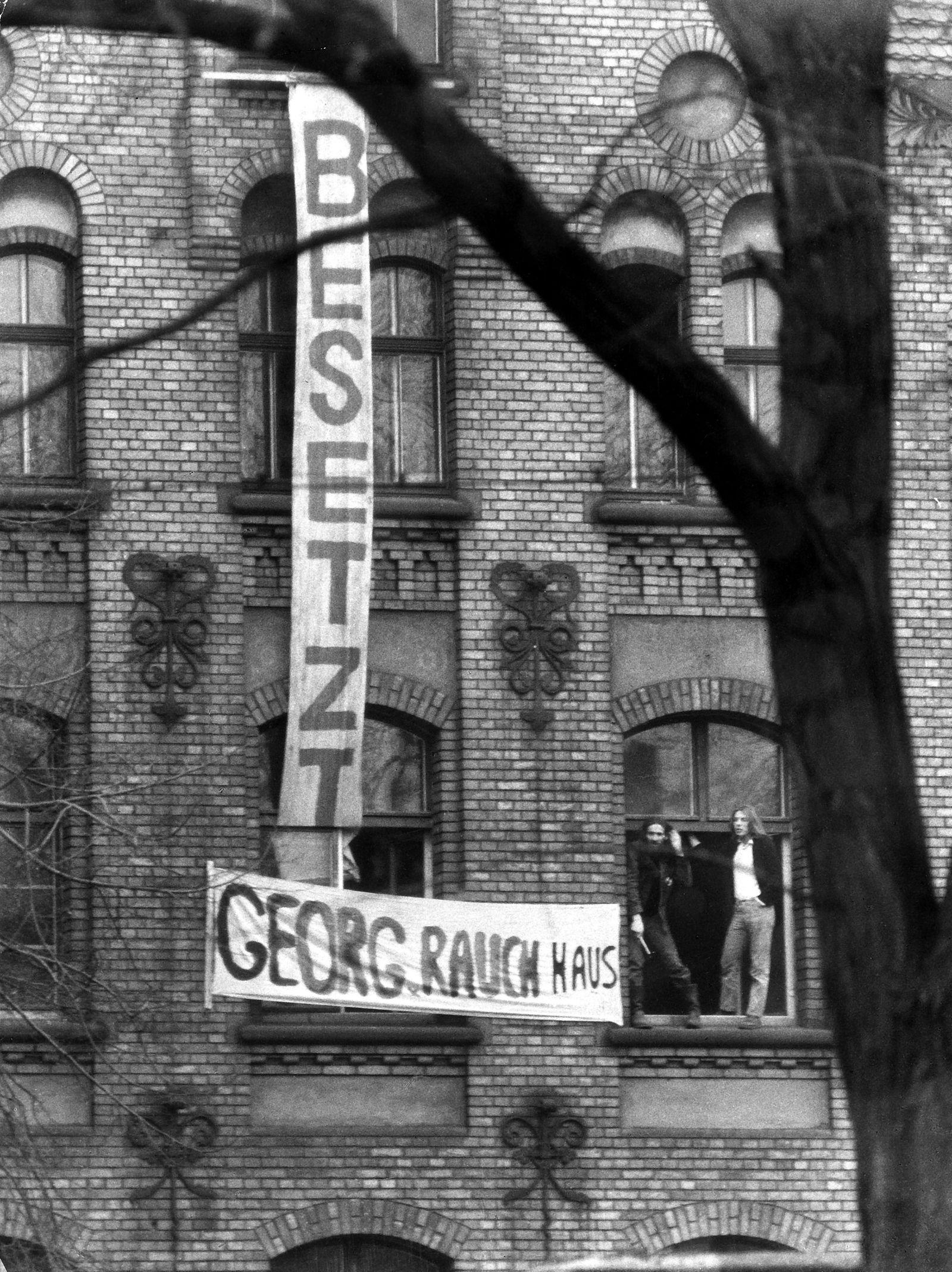 Hausbesetzungen Berlin