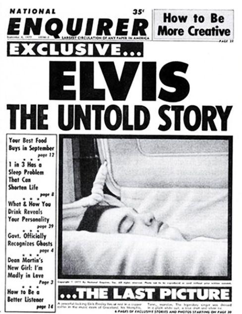 »Das letzte Bild«: Elvis im Sarg – nur eine Wachspuppe?