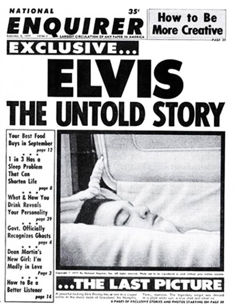 Elvis Mythos / Letztes Foto