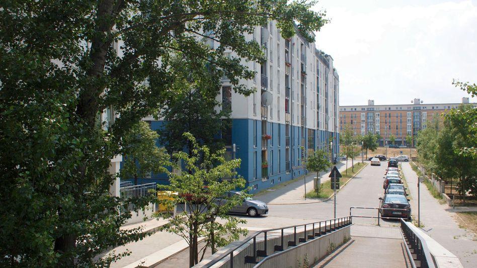 The Saudi diplomat's apartment in northwestern Berlin.