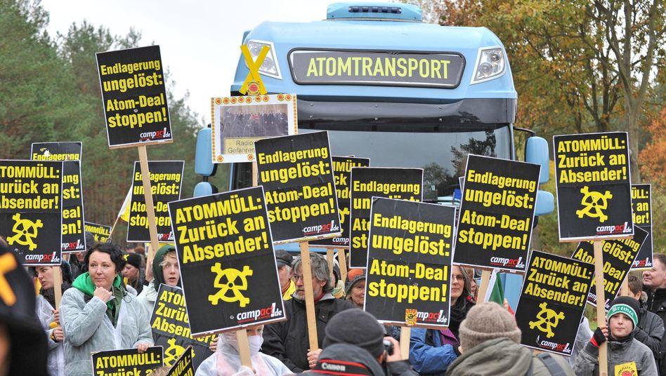 Atommüll-Protest in Gorleben (Archivbild)