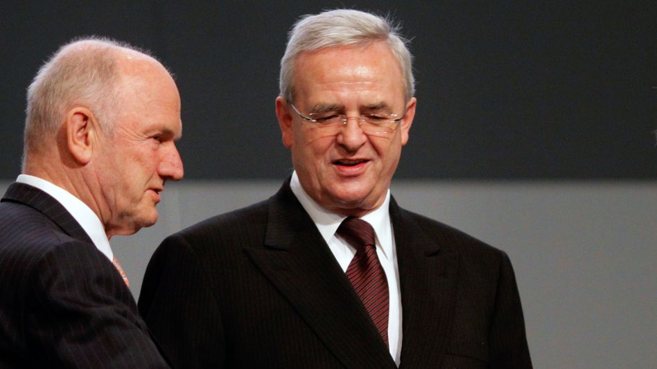 Aufsichtsratschef Piëch und VW-Chef Winterkorn: Alle gegen den Patriarchen