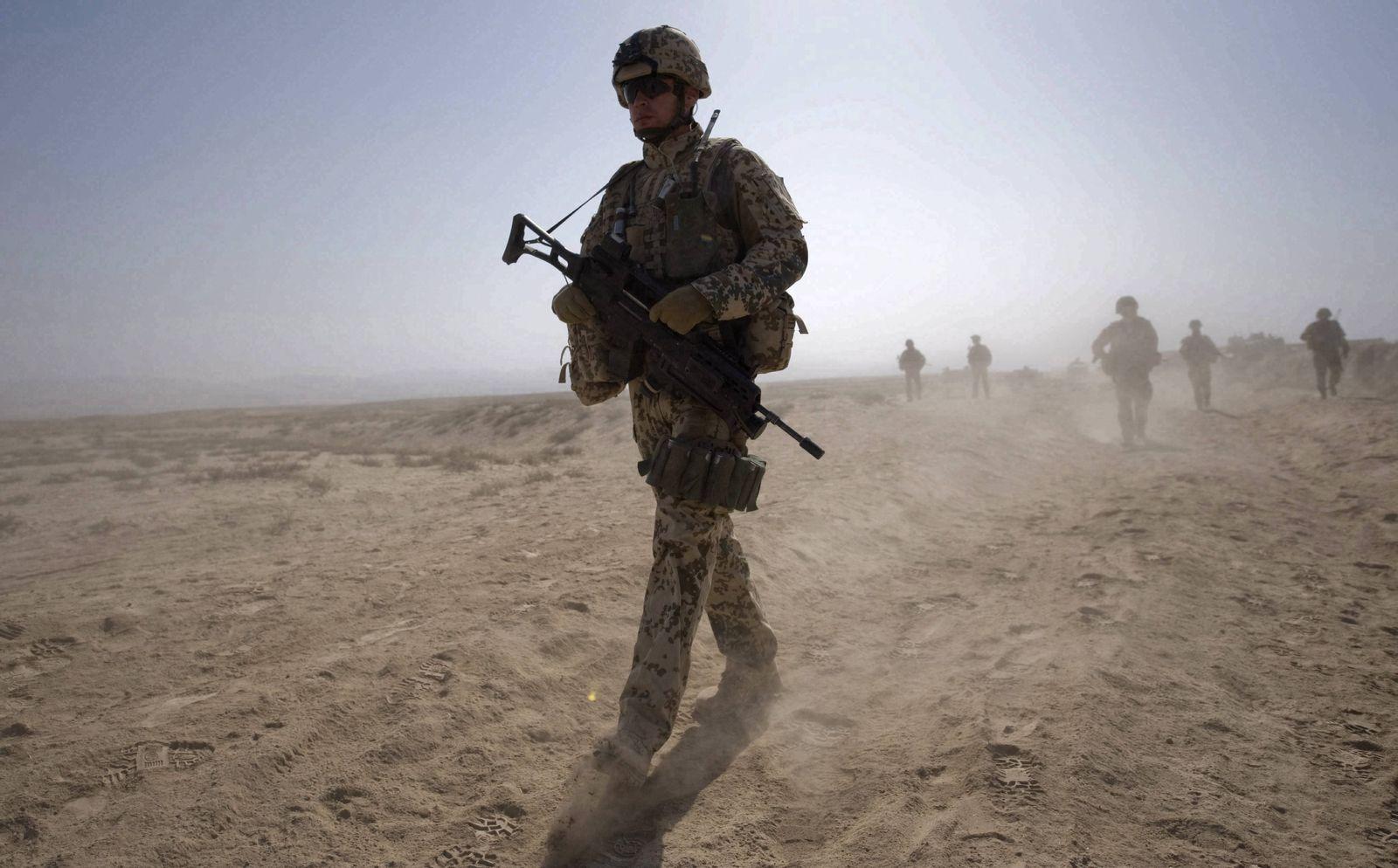 NICHT VERWENDEN Bundeswehr / Afghanistan / Kunduz
