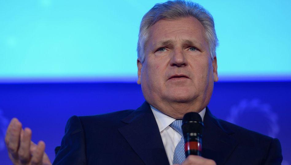 Ex-Präsident Kwasniewski: Angebliche Intervention gegen Folter
