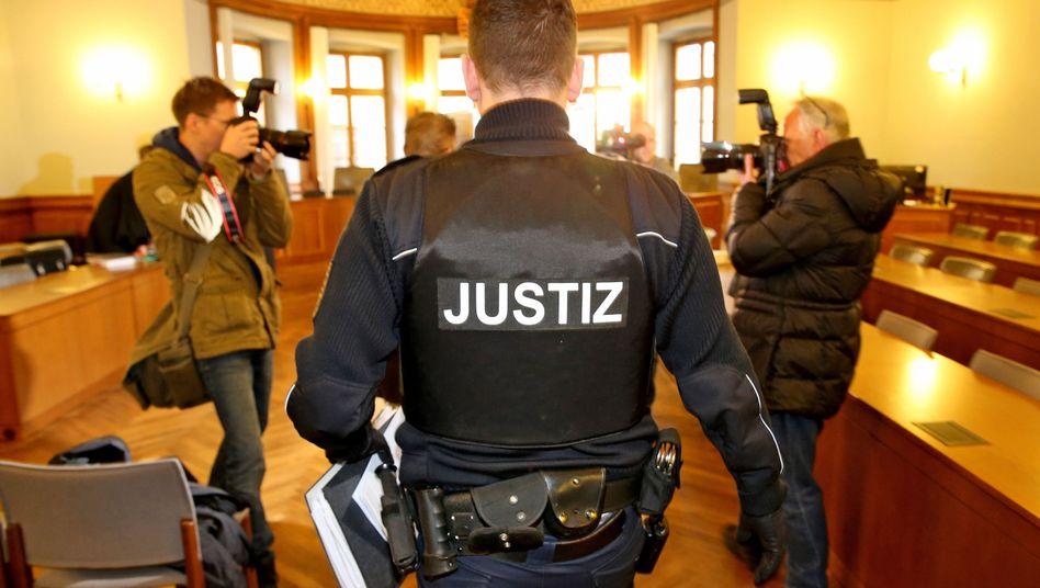 Unister-Betrugsprozess im Landgericht Leipzig