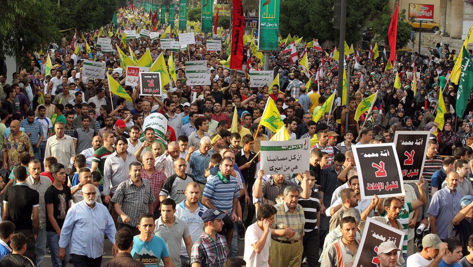 Massendemo in Beirut: Aufstand gegen das Mohammed-Video
