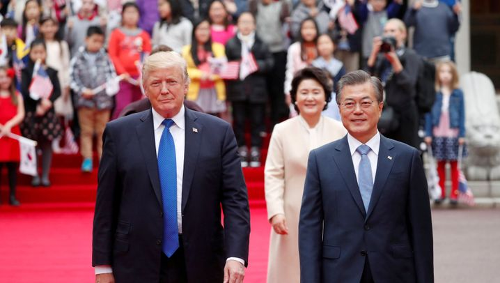 Staatsbesuch: Trump in Seoul