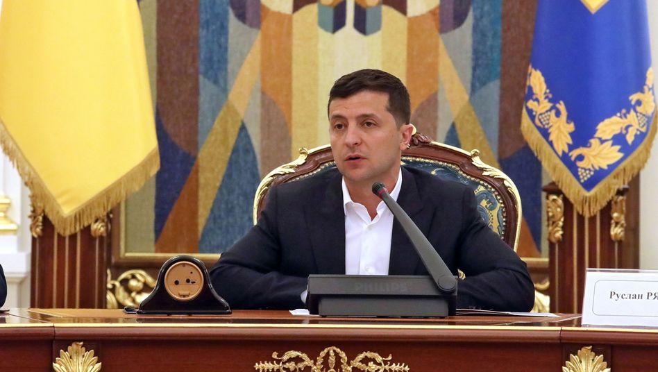 Wolodymyr Selenskyj: Der ukrainische Präsident sollte gegen Steuerschlupflöcher vorgehen, fordern EU-Parlamentarier