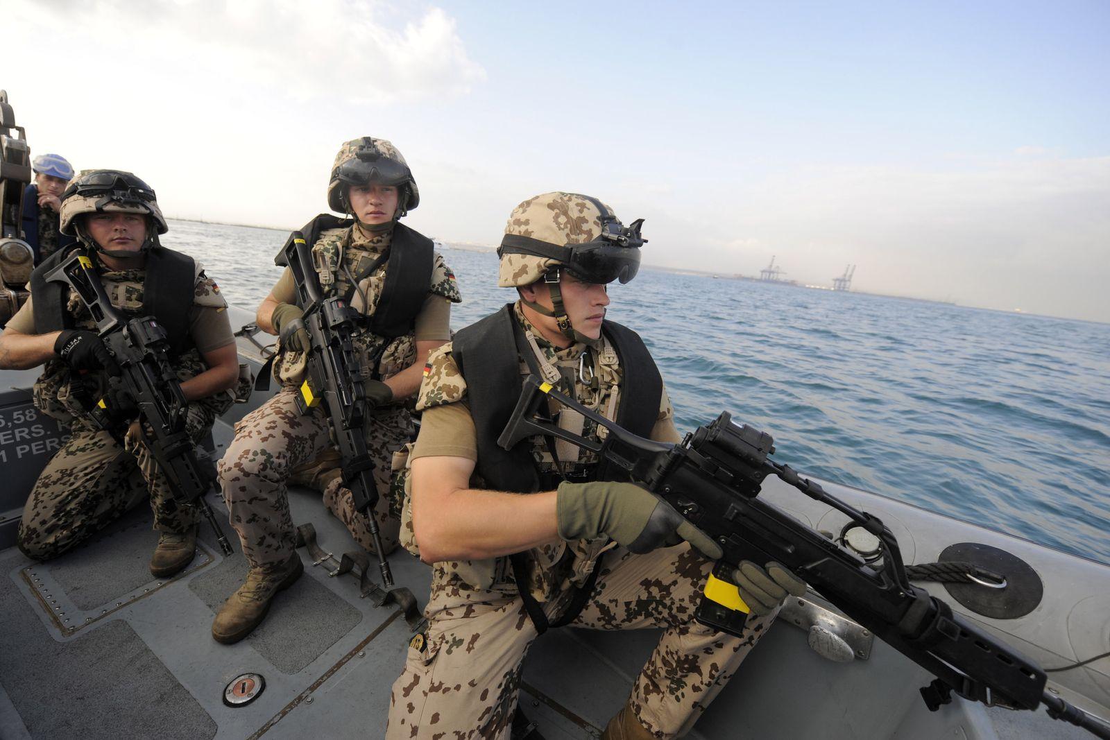 NICHT VERWENDEN Bundeswehr / Somalia / Piraten