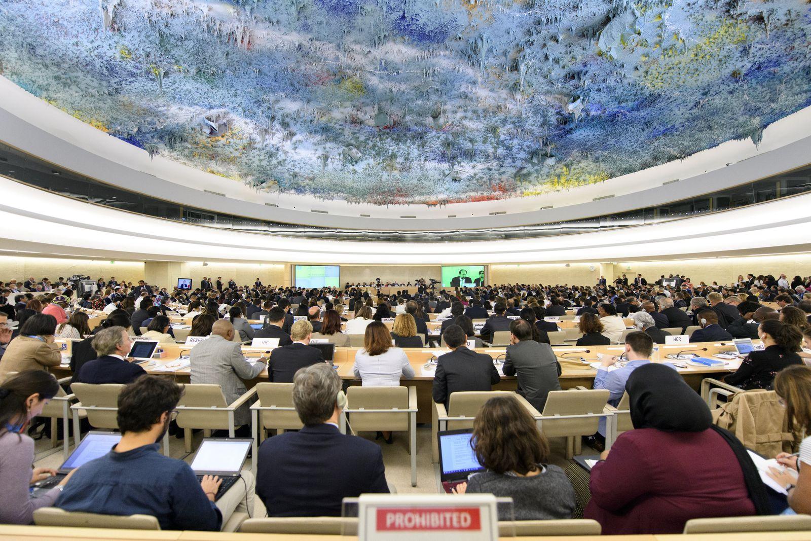 Uno-Menschenrechtsrat / Genf