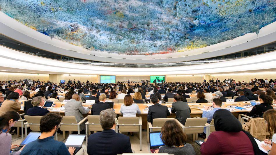 Treffen des Uno-Menschenrechtsrats in Genf (Archiv)