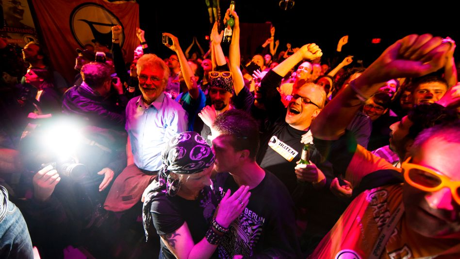 Feiernde Piraten in Berlin: Als Arroganz getarnte Ignoranz nicht mehr akzeptieren