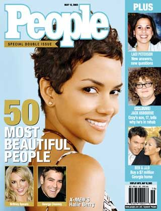 """Auf dem """"People-Cover"""": Halle Berry"""