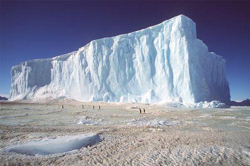 Eisberg in der Antarktis: Die meisten Forscher zweifelten an Abkühlung