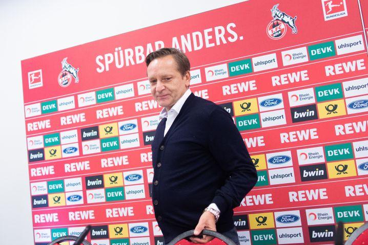 Horst Heldt wurde in Königswinter geboren, 40 Kilometer entfernt von Köln