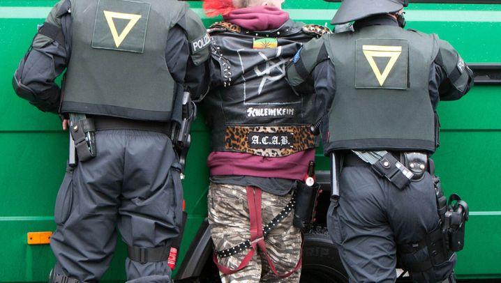 Hausräumung in Berlin: Polizei räumt besetztes Haus in Berlin