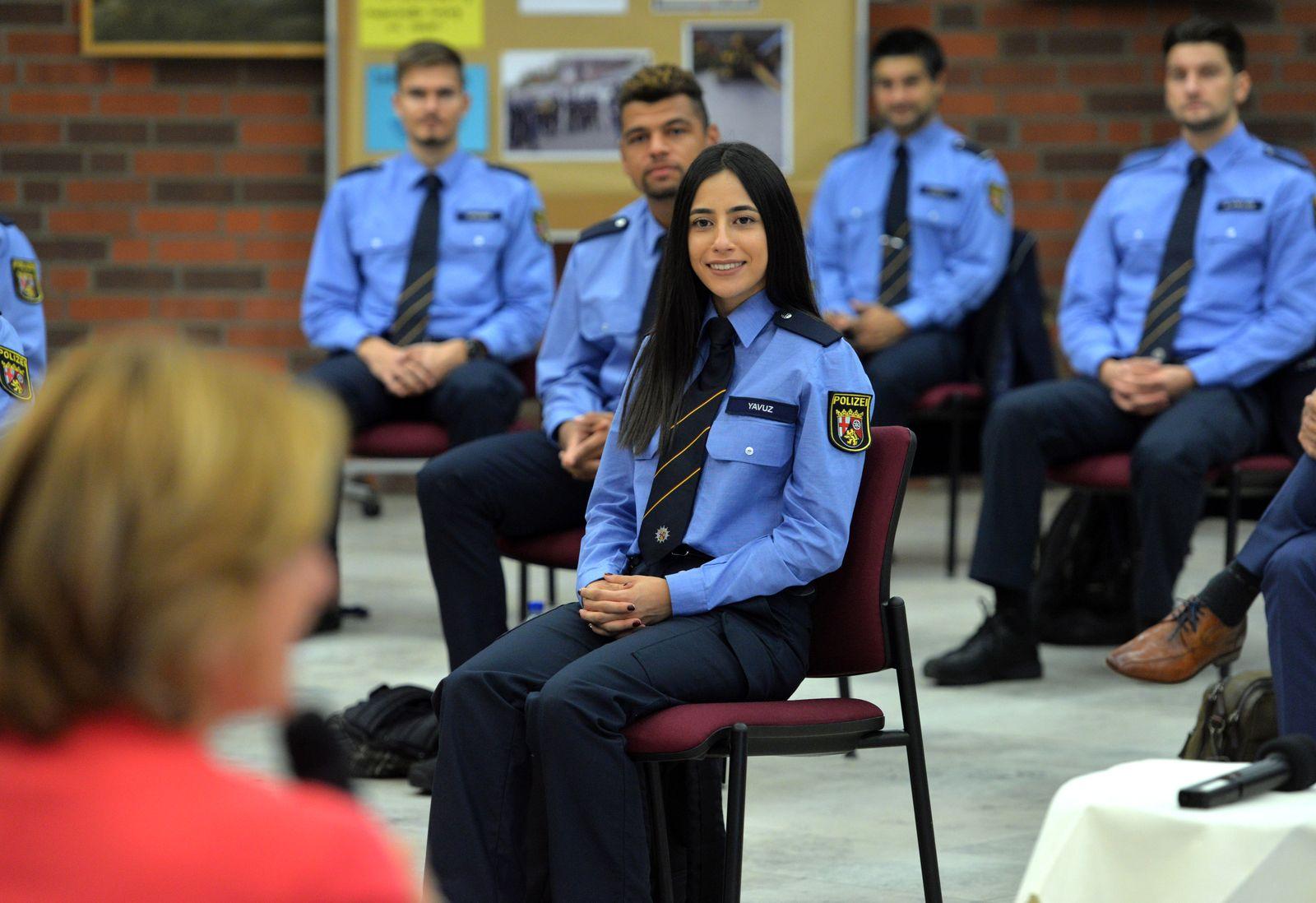 Dialog mit Polizeistudierenden mit Migrationshintergrund