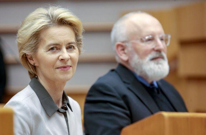 Ursula von der Leyen und Frans Timmermans