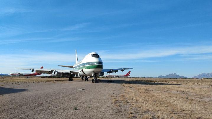 Besuch auf einem Flugzeugfriedhof: Endstation Wüste