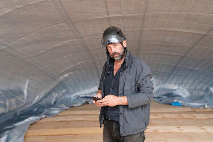 Projektleiter und Künstler-Neffe Javacheff: »Ich vermisse Christo«