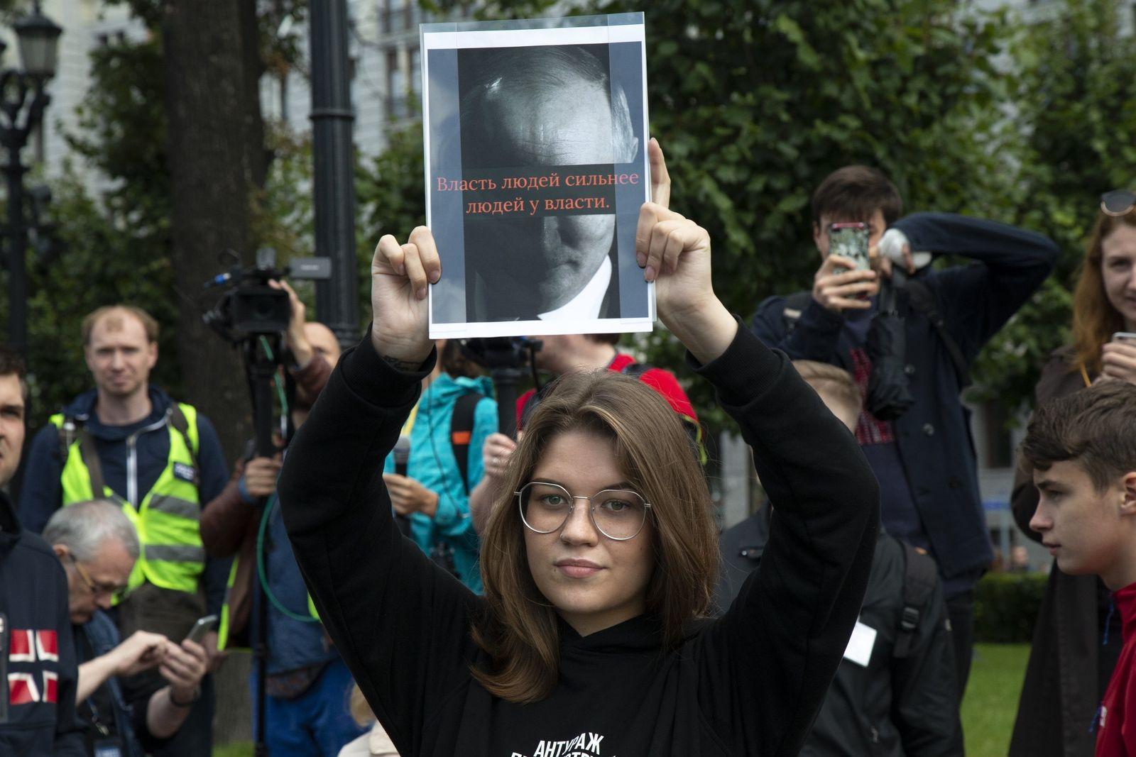 Russland Proteste