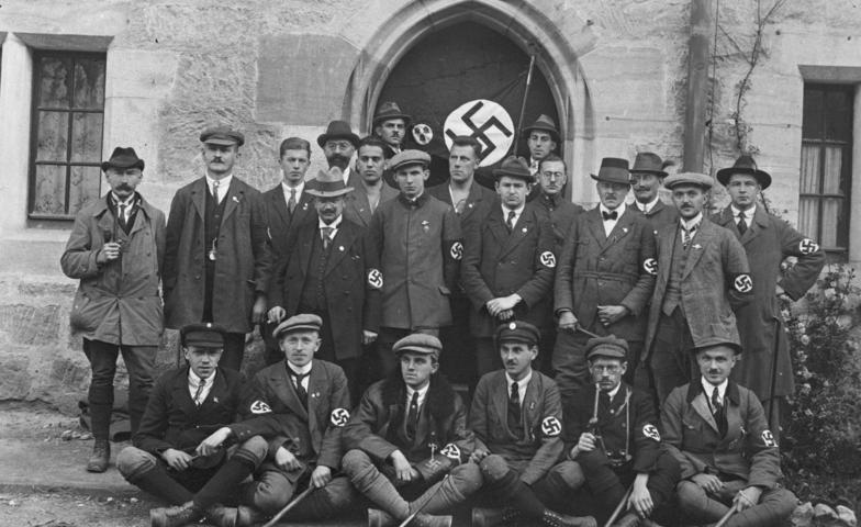 """Coburg, """"Deutscher Tag"""", NSDAP-Delegation"""