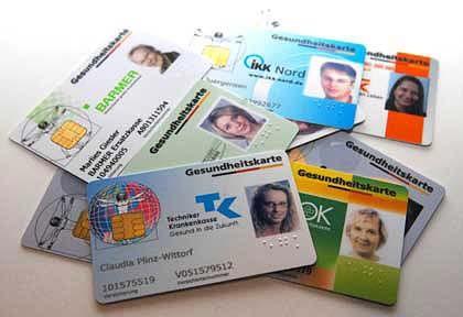 Chipkarten von Krankenkassen: Um künftige Beiträge wird heftig gefeilscht