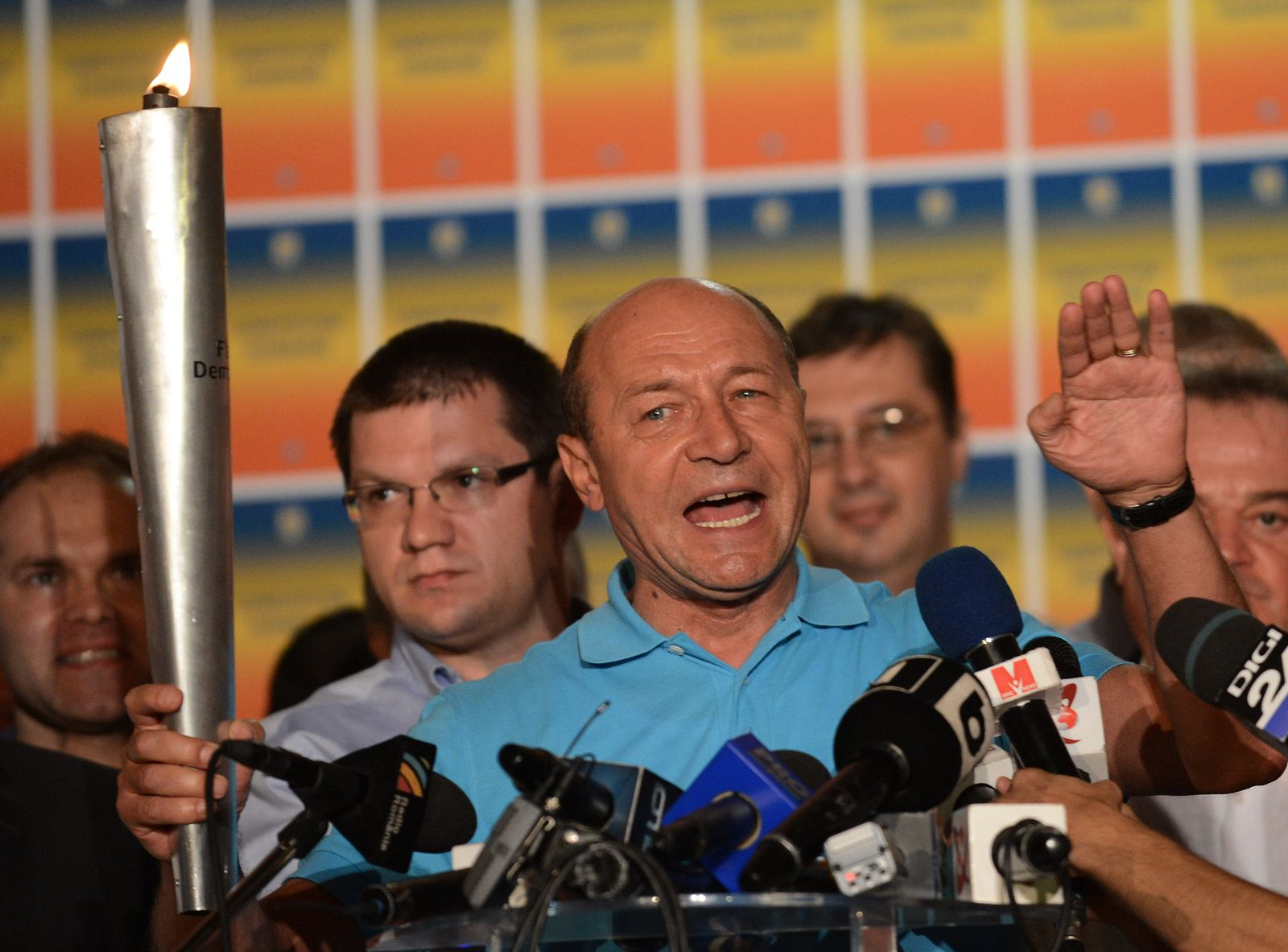 Rumänien, Basescu