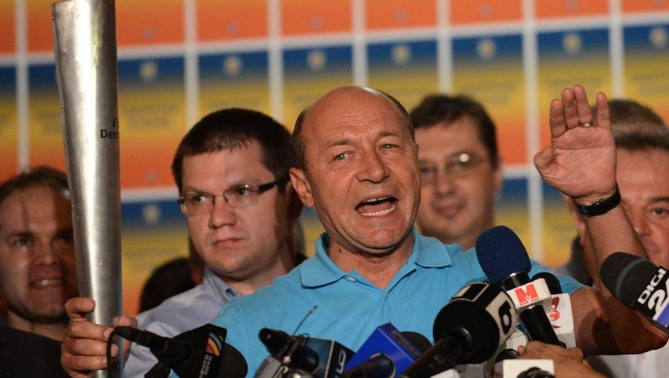 Traian Basescu: Keine Amtsenthebung dank geringer Wahlbeteiligung