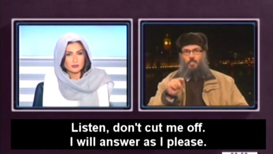 TV-Moderatorin Rima Karaki bietet Sebai die Stirn - mit ihren eigenen Methoden